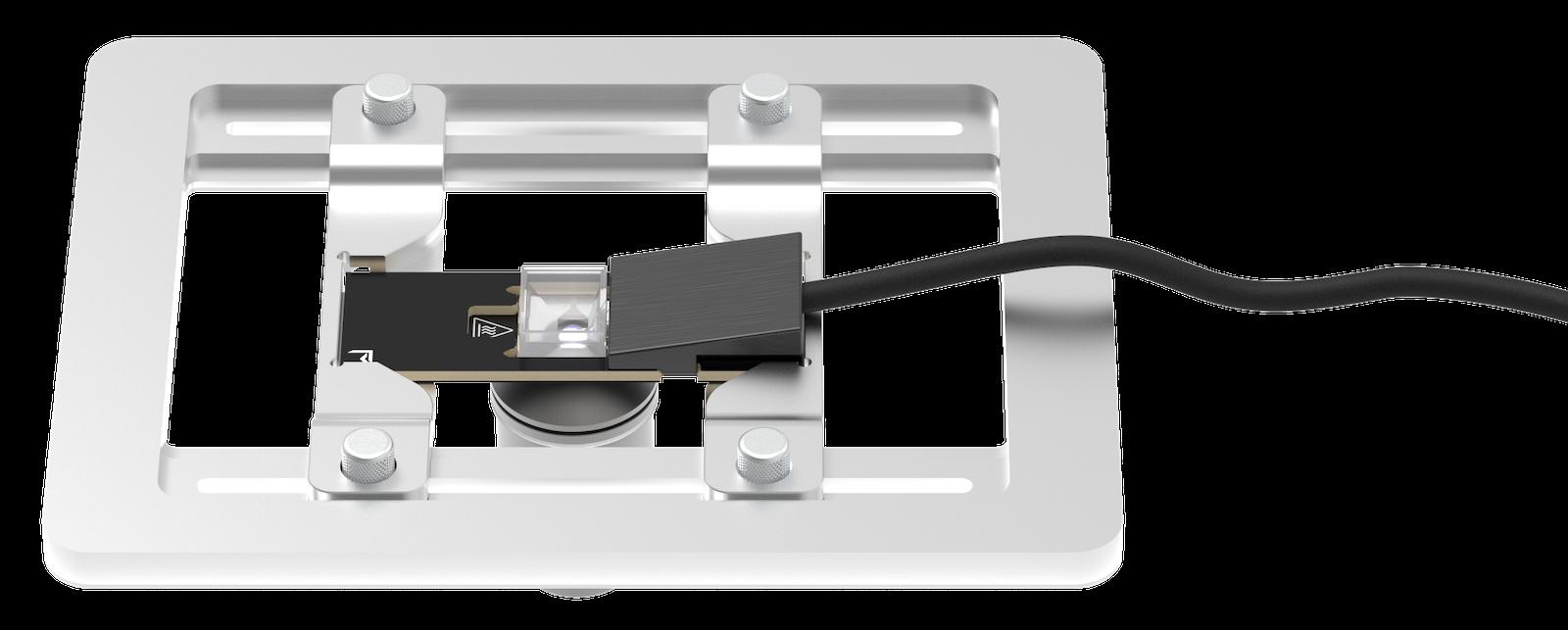 VAHEAT in microscope adapter