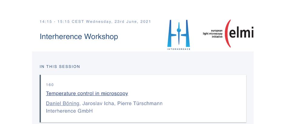 Workshops at ELMI 2021