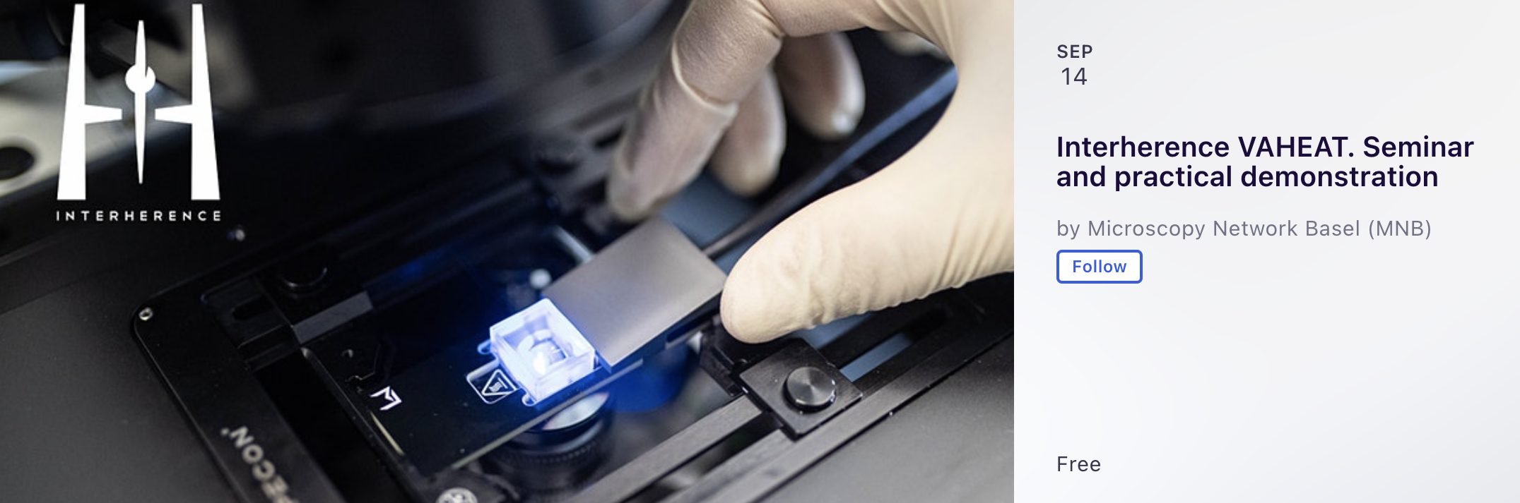 Seminar: Precision thermal control in light microscopy, University of Basel